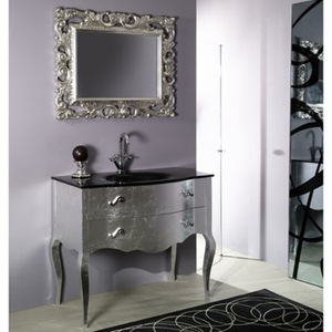 Silver Bathroom Vanity Iotti NB1