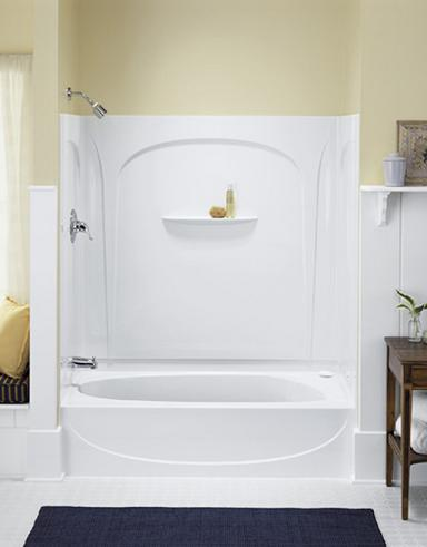 Acclaim Shower Tub Combo From Sterling