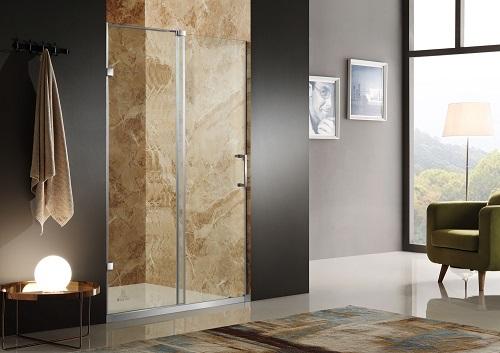 Chief Frameless Sliding Shower Door ASD-AZ03ABH-R from Anzzi