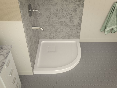 Eternity Series Shower Base SB-AZ006WN from Anzzi