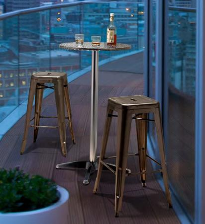 Bistro Tables And Bar Sets Tall Tables To Dress Up Your
