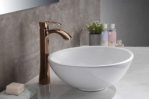 Deux Ceramic Vessel Sink LS-AZ118 from Anzzi