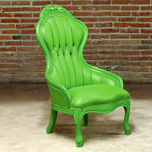 Ladies Chair In Green From PolArt