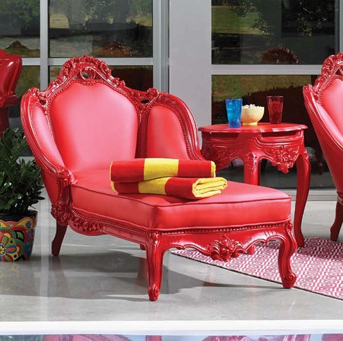 Outdoor Chaise Lounge 643 from PolArt Designs