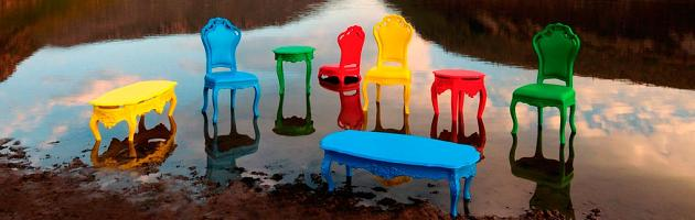 Unique Colorful Modern Outdoor, Colorful Outdoor Furniture