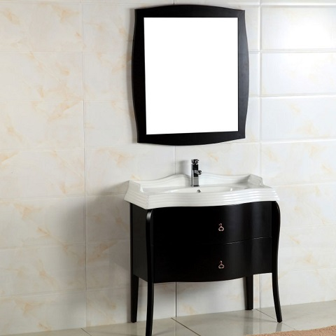 "36"" Single Sink Vanity 500408-36 from Bellaterra Home"