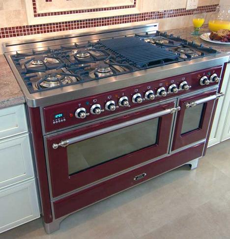 Majestic Kitchen Range With Optional Cast Iron Grill Pan From Ilve By Eurochef