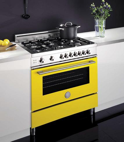 Pro-Style Range With European convection Oven From Bertazzoni