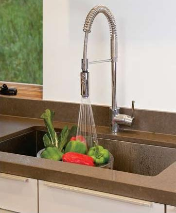 Architectural Professional Pulldown Kitchen Faucet From Rohl