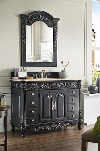 "Monte Carlo 48"" Single Bathroom Vanity 207-MC-V48-EB from James Martin Furniture"