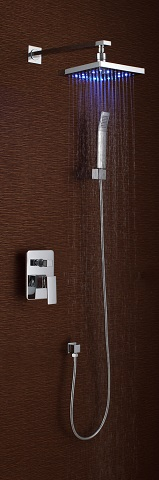 LED Thermal Shower System S3073CL from Sumerain