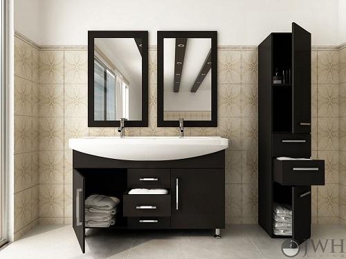 """Celine 48"""" Bathroom Vanity in Espresso JWH-91300 from JWH Living"""
