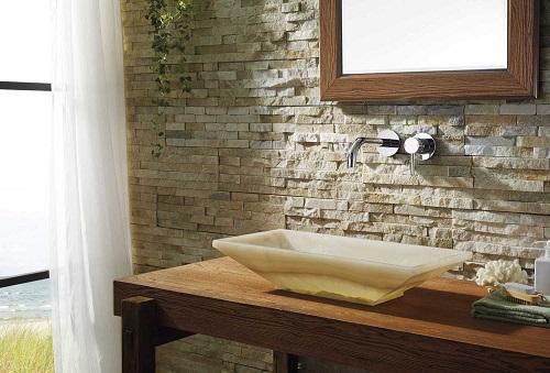 Ira Bathroom Vessel Sink in White Onyx Marble VST-2031-BAS from Virtu USA