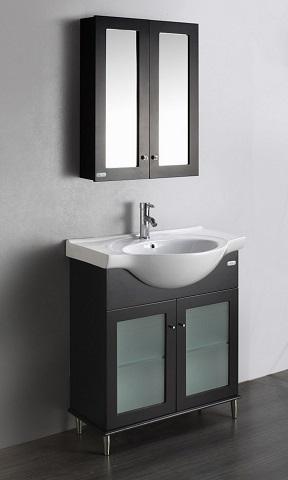 "Tux 24"" Bathroom Vanity in Espresso EVVN511-24ES from Eviva"