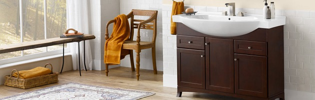 Narrow Bathroom Vanities U2013 A Simple Solution For A Small Bathroom