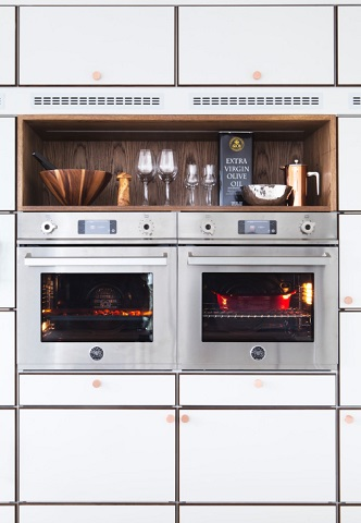 Dual Pro-Series Wall Ovens from Bertazzoni