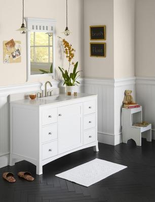 Cape Cod Style Bathroom Vanities A Few Options To Make