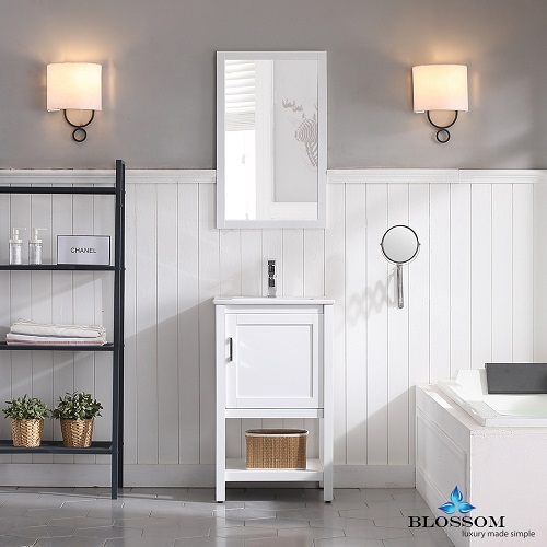 Installing a new bathroom vanity is a quick and effective way to update the appearance of your whole space