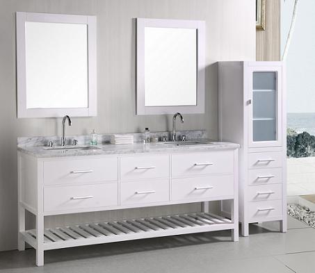 Newcastle Open Bathroom Vanity From Design Element