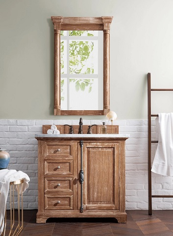 """Providence 36"""" Single Bathroom Vanity in Driftwood 238-105-5511-3CLW from James Martin Furniture"""
