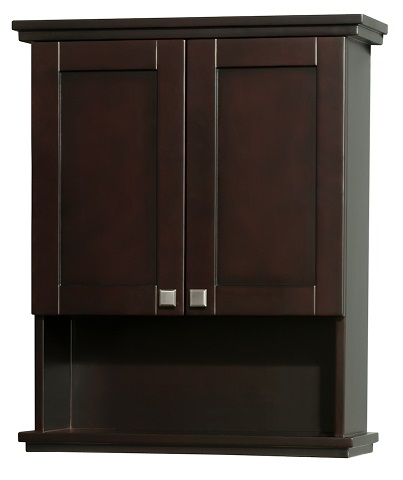 "25"" Wall Cabinet in Espresso WCV8000WCES from the Wyndham Collection"
