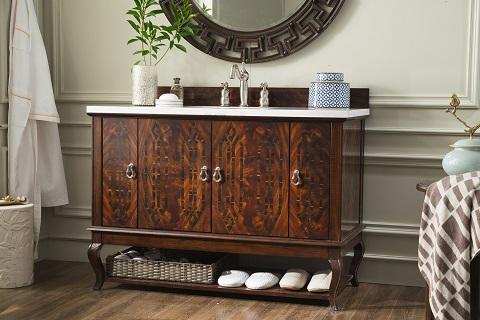 "Palm Beach 48"" Single Bathroom Vanity 420-V48-DKA from James Martin Furniture"