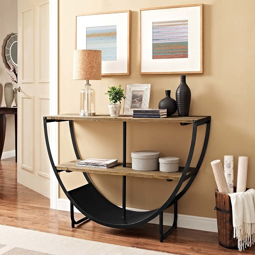 Uplift Console Stand in Brown EEI-26350BRN from Modway Furniture