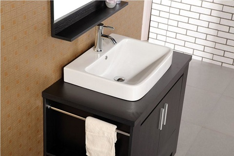 "Washington 36"" Single Bathroom Vanity DEC083A from Design Element"