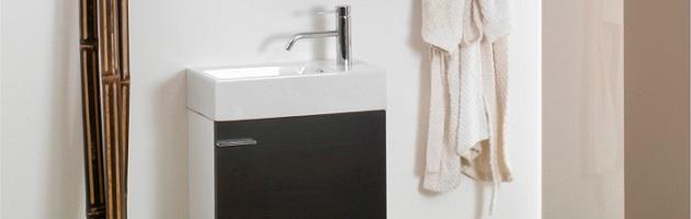 Micro Bathroom Vanities For A Truly Tiny Efficiency Style Bathroom