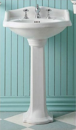 """China Series 23"""" Traditional Pedestal AR814-AR815 from Whitehaus"""