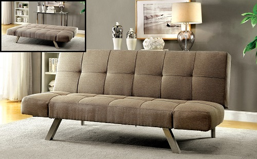Jane Contemporary Style Adjustable Futon Sofa IDF-2818 from Furniture of America