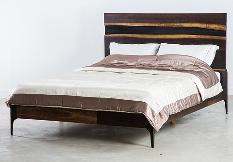 Prana Queen Bed HGSR589 from Nuevo Living