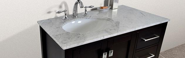Bathroom Vanities With Offset Sinks A, Bathroom Vanity With Offset Sink
