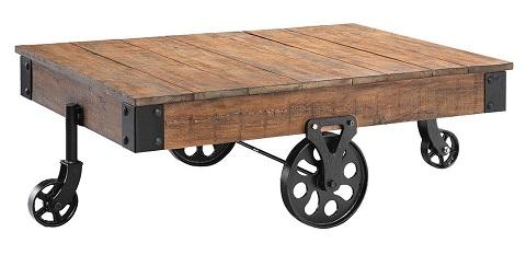 Poplar Estate Cocktail Cart 390-019 from Stein World