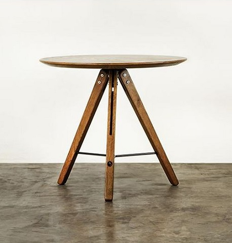 Theo Fumed Side Table HGDA424 from Nuevo Living