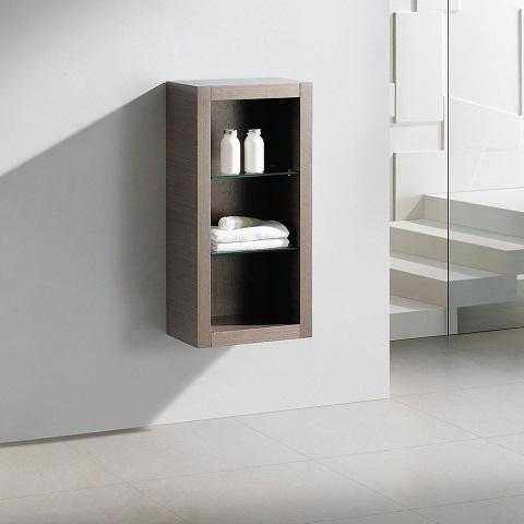 Allier Gray Oak Bathroom Linen Side Cabinet FST8130GO from Fresca