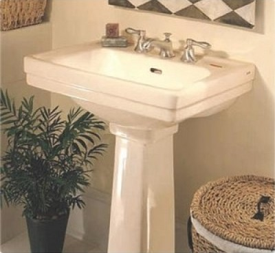 beige bathroom sink small bathroom solutions pedestal sinks 12033 | Sedona Beige Pedestal Sink LT532.8 from Toto