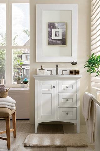 "Palisades 30"" Single Bathroom Vanity 527-V30-BW from James Martin Furniture"
