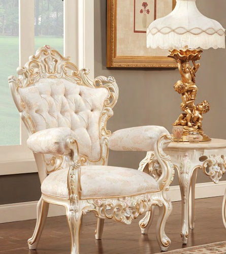 French and Victorian Inspired Armchair 611CJ from PolRey