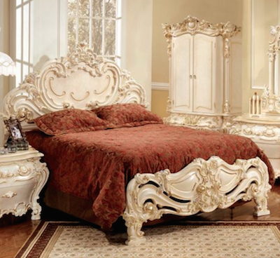 Classic King Size Bed 315-K by Polrey