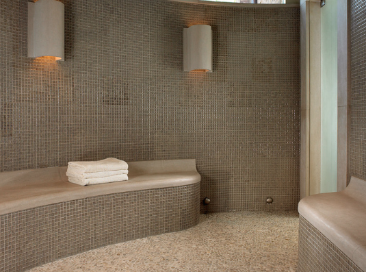 Some steam shower units are even capable of self-cleaning. (By Beckwith Interiors, photo by Kim Sargent)
