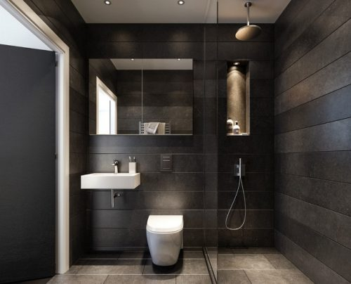Small bathrooms are the bane of a designer's existence, but a few simple tricks can make a big difference (by Hamilton Court Developments)