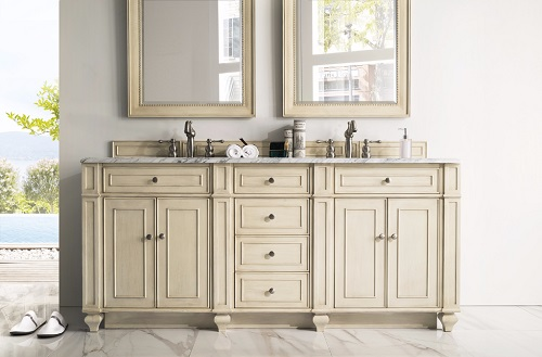 "Bristol 72"" Double Bathroom Vanity 157-V72-VV from James Martin Furniture"