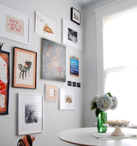 There is a fine line between clutter and order. (By Corynne Pless)