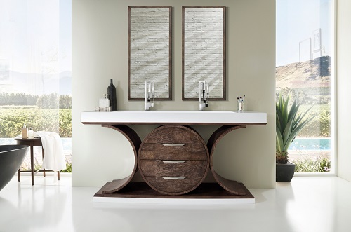 "Oaisis 72"" Double Bathroom Vanity 378-V72D-OAE from James Martin Furniture"