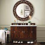 "Palm Beach 48"" Single Bathroom Vanity in Dark Amber 420-V48-DKA from James Martin Furniture"