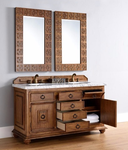 """Mykonos 60"""" Double Bathroom Vanity Cabinet with Drawers 555-V60D-CIN from James Martin Furniture"""