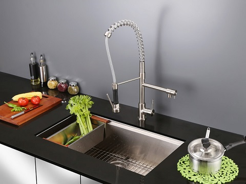 Roma Undermount 16 Gauge Kitchen Sink RVH8300 from Ruvati