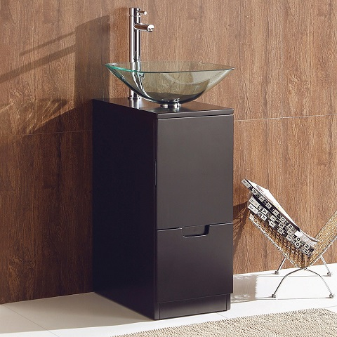 "Brilliante 17"" Modern Bathroom Vanity Cabinet FCB6117ES-V from Fresca"