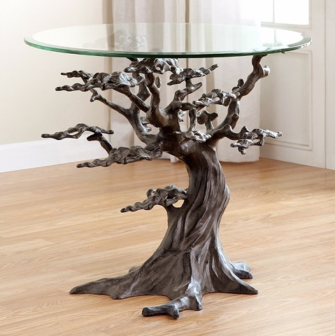 Cypress Tree End Table 34201 from SPI Home